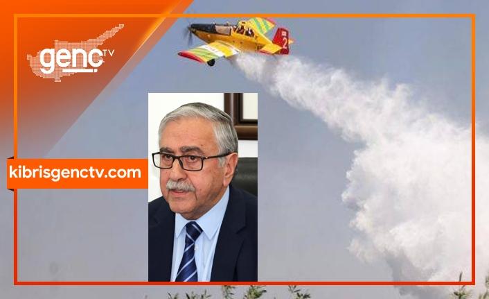 """""""Türkiye'ye ait yangın helikopteri Kuzey Kıbrıs'ta konuşlandırılmalıdır"""""""