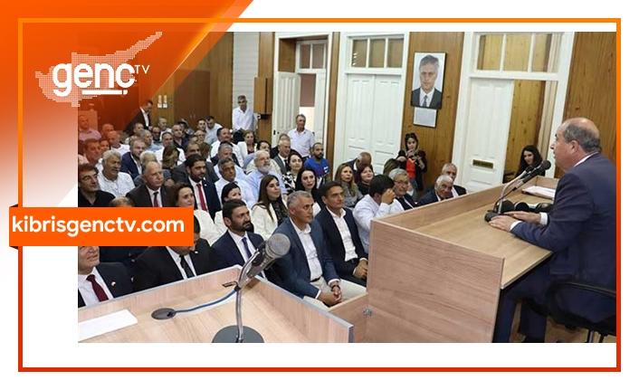 UBP MYK'dan Tatar'a tam destek