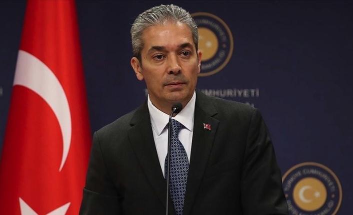 """Aksoy: """"Akdeniz'in tek sahibi benim"""" anlayışıyla hareket edenlerin hüsrana uğrayacağını söyledi"""