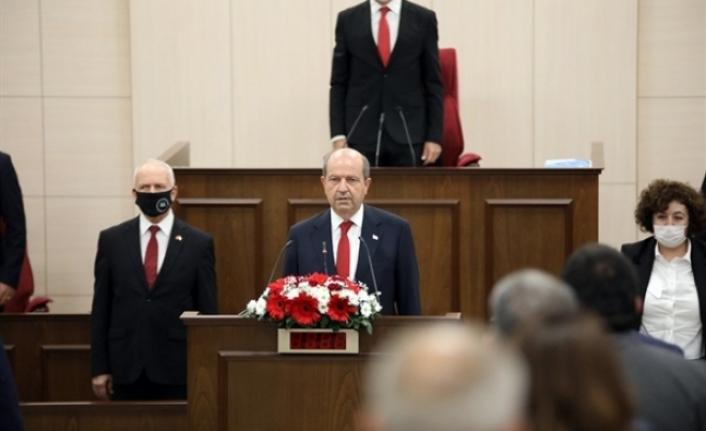 Tatar, Cumhuriyet Meclisi'nde ant içerek görevine başladı