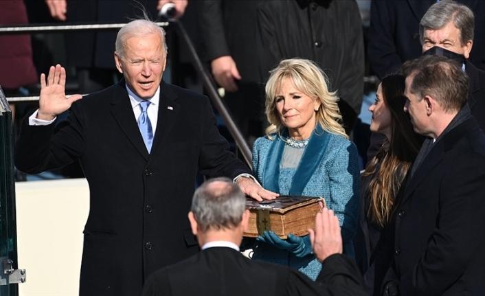 Biden yemin ederek ABD'nin 46. başkanı oldu