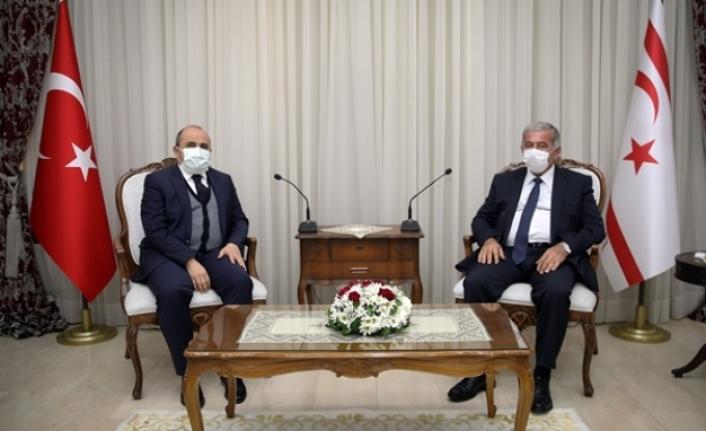 Sennaroğlu, Büyükelçi Başçeri'yi kabul etti