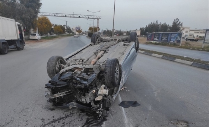 Bir haftada  54 trafik kazası