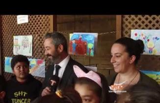 Evrensel çocuk hakları gününde Bedesten'de sergi