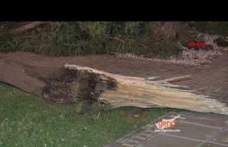 Gazimağusa'da Şiddetli Fırtına