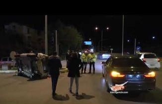 Girne Çevre Yolunda Trafik Kazası