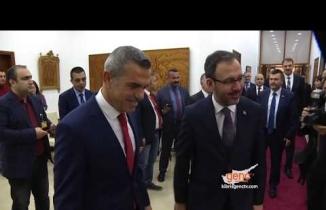 Uluçay Türkiye Spor Bakanı'nı Kabul Etti