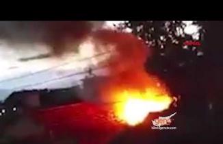 Yeşilyurt'da Yangın